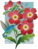 Beija Flor Red - Cross Stitch Chart