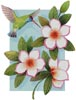 Beija Flor White - Cross Stitch Chart