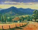 Dark Clouds, Bellingen - Cross Stitch Chart