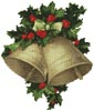 Bells and Holly - Cross Stitch Chart