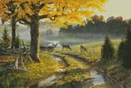Bend Road - Cross Stitch Chart