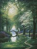 Beside still Waters (Spring) - Cross Stitch Chart