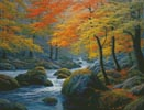 Beside the River (Large) - Cross Stitch Chart