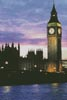 Big Ben at Dusk - Cross Stitch Chart