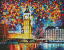 Big Ben, London - Cross Stitch Chart