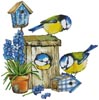 Birdhouse Beauties - Cross Stitch Chart