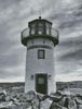 Black and White Lighthouse - Cross Stitch Chart
