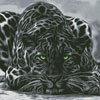 Black Leopard - Cross Stitch Chart