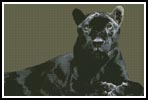 Black Panther - Cross Stitch Chart