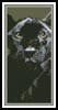 Black Panther Bookmark - Cross Stitch Chart