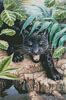 Black Panther in the Jungle - Cross Stitch Chart