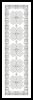 Blackwork Bookmark 3 - Cross Stitch Chart