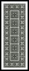 Blackwork Bookmark 5 - Cross Stitch Chart