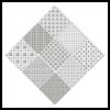 Blackwork Diamond - Cross Stitch Chart