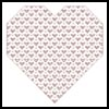 Blackwork Heart - Cross Stitch Chart