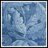 Blue Acanthus - Cross Stitch Chart