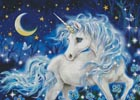 Blue Fantasy (Large) - Cross Stitch Chart