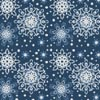 Blue Snowflakes Cushion - Cross Stitch Chart