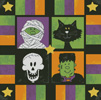 Boo to You Square - Cross Stitch Chart