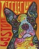 Boston Terrier Luv - Cross Stitch Chart