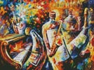 Bottle Jazz - Cross Stitch Chart