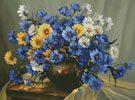 Bouquet of Blue - Cross Stitch Chart