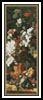 Bouquet in an Urn Bookmark - Cross Stitch Chart