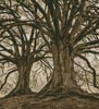 Branching Out - Sepia (Crop) - Cross Stitch Chart