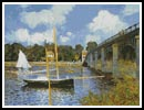 The Bridge at Argenteuil - Cross Stitch Chart