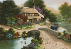 Bridge Cottage - Cross Stitch Chart
