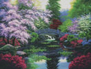 Bridge of Tranquility - Cross Stitch Chart