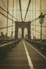 Brooklyn Bridge (Sepia)- Cross Stitch Chart
