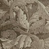 Brown/Beige Acanthus - Cross Stitch Chart