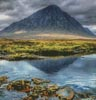 Buachaille Etive Mor Glencoe (Crop) - Cross Stitch Chart