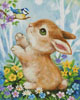 Bunny and Bird - Cross Stitch Chart