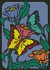 Butterflies and Flowers - Cross Stitch Chart