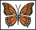 Butterfly - Cross Stitch Chart