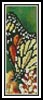 Butterfly Bookmark - Cross Stitch Chart