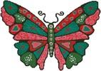 Butterfly Hearts - Cross Stitch Chart