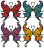 Butterfly Swirls - Cross Stitch Chart