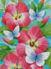 Butterfly Violet - Cross Stitch Chart
