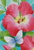 Butterfly Violet (Crop) - Cross Stitch Chart