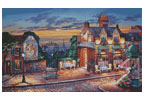 Cafe Montmartre - Cross Stitch Chart