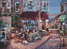 Cafe Romantique - Cross Stitch Chart