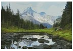 Canadian Landscape - Cross Stitch Chart