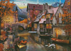 Canal Home - Cross Stitch Chart