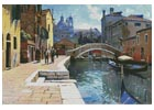 Canal in Venice - Cross Stitch Chart