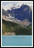 Canoeing on Moraine Lake Canada - Cross Stitch Chart