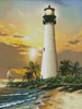 Cape Florida Lighthouse - Cross Stitch Chart