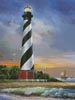 Cape Hatteras Lighthouse - Cross Stitch Chart